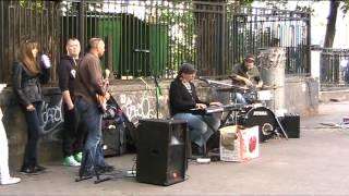 Уличные музыканты на Арбате (
