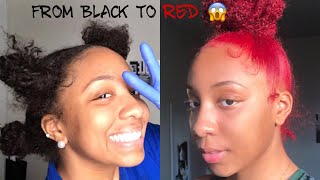 HOW TO DYE YOUR HAIR WITHOUT BLEACH (VERY EASY)