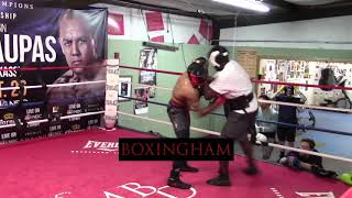 Deon Nicholson: Light Sparring and Workout