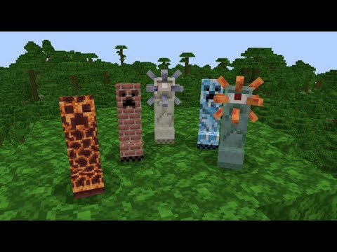 MORE CREEPERS MOD in Minecraft PE