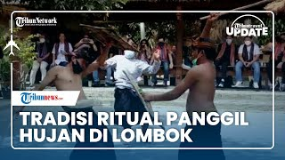 Tradisi Ritual Panggil Hujan Peresean di Lombok, Berhasil Jika Ada yang Berdarah