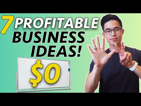 , title : '7 TOP Business Ideas You Can Start With NO MONEY