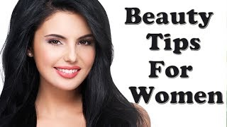 Beautiful Face | How to Look Beautiful Naturally without Makeup | Beauty Tips