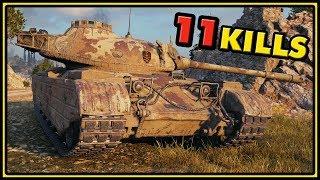 Progetto 46 - 11 Kills - World of Tanks Gameplay