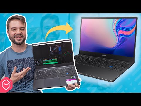 Notebook PORTÁTIL, POTENTE e para TRABALHO! | Samsung Style S51 PRO