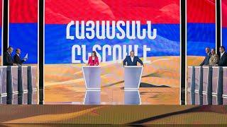 «Հայաստանն ընտրում է» նախընտրական երրորդ մեծ բանավեճը | ՈՒՂԻՂ