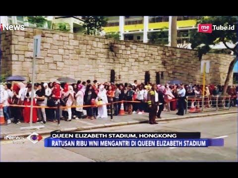 Antrean Panjang Ribuan WNI Mencoblos di Queen Elizabeth Stadium, Hongkong - iNews Sore 14/04