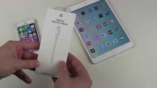 Apple Digital AV Lightning to HDMI Adapter Test
