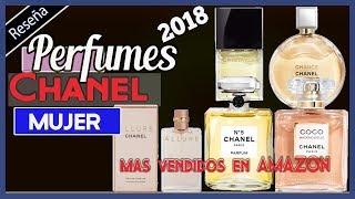 5 perfumes de mujer Chanel  mas Vendidos en Amazon 2018