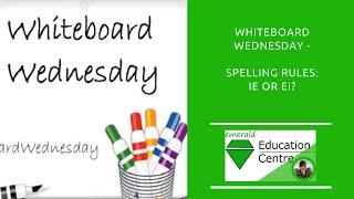 Spelling tricky words - 'ie' or 'ei'?