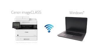 Wi-Fi Setup with a Windows PC for Canon imageCLASS