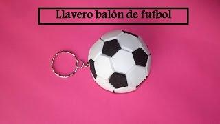 LLAVERO DE BALÓN ( MANUALIDADES PARA PAPÁ)