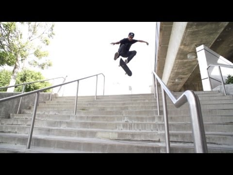 Carlos Lastra Crazy 12 Stair Session