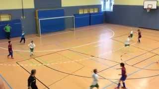 preview picture of video 'Turnier Eilenburg 14.12.2014 Gruppenspiel Stahl Riesa - FC G/W Piesteritz F-Jugend 1:0 Mattis'