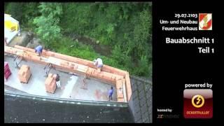 preview picture of video 'Eichgraben Neu- und Umbau Feuerwehrhaus Abschnitt1 Teil1'