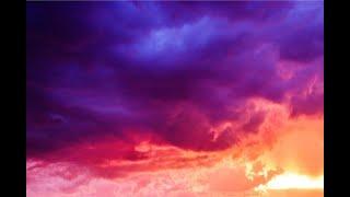 Purple sunset fpv freestyle