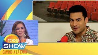 ¡Exclusiva! La Chicuela entrevistó a Carlos Rivera! |Todo Un Show