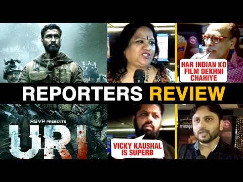 URI Media REACTION | Vicky Kaushal, Yami Gautam |