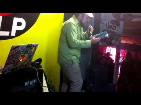 "Urayoán Noel w/ Pdrito Criollito @eL Paper Magazine launch of ""De-Tour"" series"