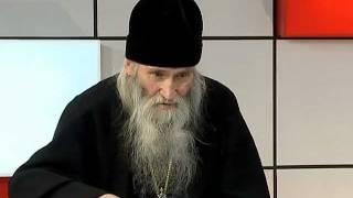 Выступление схиархимандрита Илия на Орловском ТВ.mpg