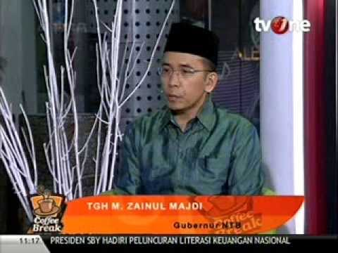 TGH Zainul Majdi - Coffe Break TV One | Part 2