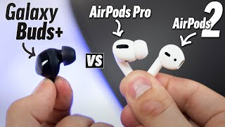 Galaxy Buds+ vs AirPods Pro vs AirPods 2 - Which to buy?