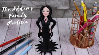 The Addams Family Morticia Cake Topper