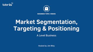 Marketing: Segmentation - Targeting - Positioning