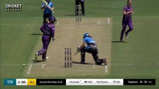 Strikers clinch back-to-back wins over Hurricanes - Highlights