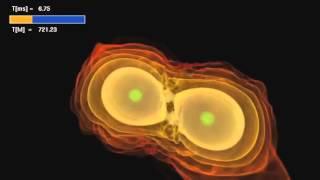 NASA | Астрофизика | Сталкивающиеся нейтронные звезды