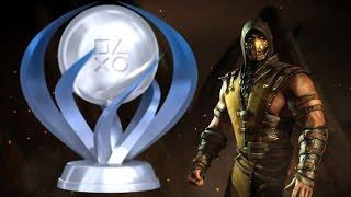 Mortal Kombat X Platinum Trophy