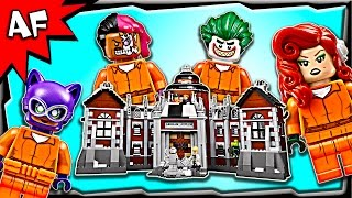 Lego Batman Movie ARKHAM ASYLUM 70912 Speed Build