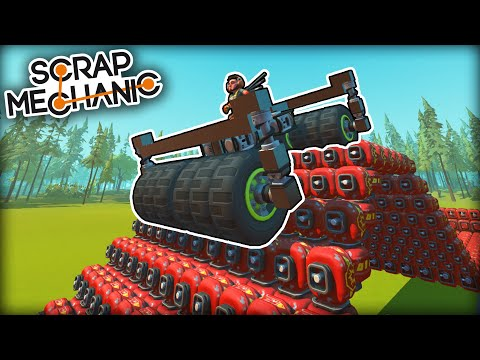 Time Trials on an Explosive Obstacle Course! (Scrap Mechanic Multiplayer Monday)