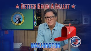 """Washington, Confused About Voting In The 2020 Election? """"Better Know A Ballot"""" Is Here To Help!"""