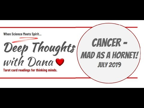 Cancer - MAD AS A HORNET! July 2019 download YouTube video