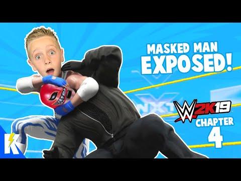 Unmasking the Red Devil! Little Flash WWE 2K19 Career Mode Part 4 | KIDCITY GAMING