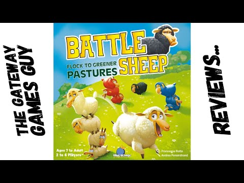 Battle Sheep Review with The Gateway Games Guy