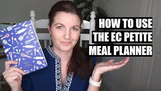 How To Meal Plan Using The Erin Condren Petite Meal Planner