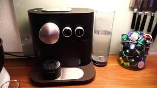 Nespresso Krups Expert erster Eindruck