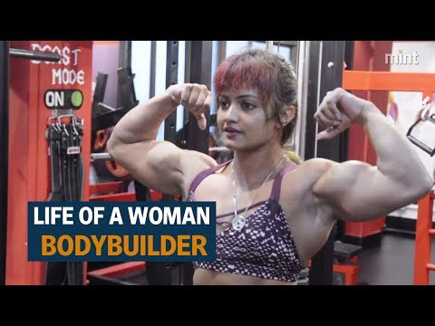 , title : 'The life of a woman bodybuilder'