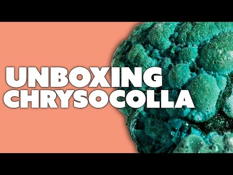 Unboxing a Broccoli Looking Gemstone
