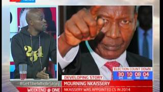 Remembering the late Interior CS Joseph Nkaissery as a man who kept his word