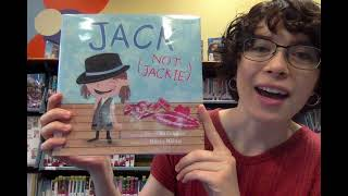 Virtual Story Time with Miss Abbey – Jack (Not Jackie)