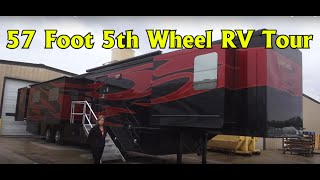 Spacecraft RV Manufacturing 57 foot Custom 5th Wheel RV Coach