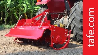 The AgriStar Powervator Highly efficient and advanced range of RotaryTillers from TAFE