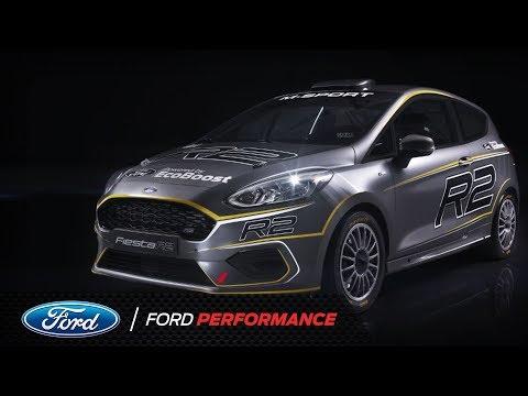 Xe đua rally Ford Fiesta R2 chuẩn bị được mở bán