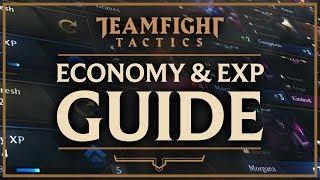 ECONOMY & EXPERIENCE BEGINNER GUIDE | Teamfight Tactics