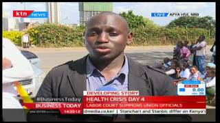 Business Today: Health crisis strike enters the fourth day 8/12/2016
