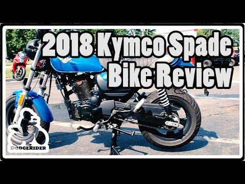 2018 Kymco Spade 150 – Bike Review