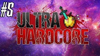 Minecraft: ULTRA HARDCORE SURVIVAL Ep 5 - DANGEROUS DIGGING